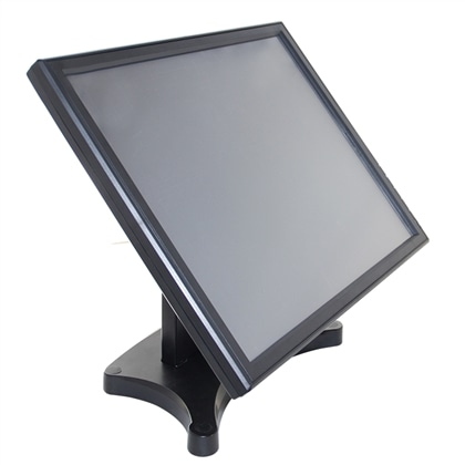 """Monitor 17"""" LCD TFT 1280x1024  Preto Touch 5 Wires IF USB - 30532240"""