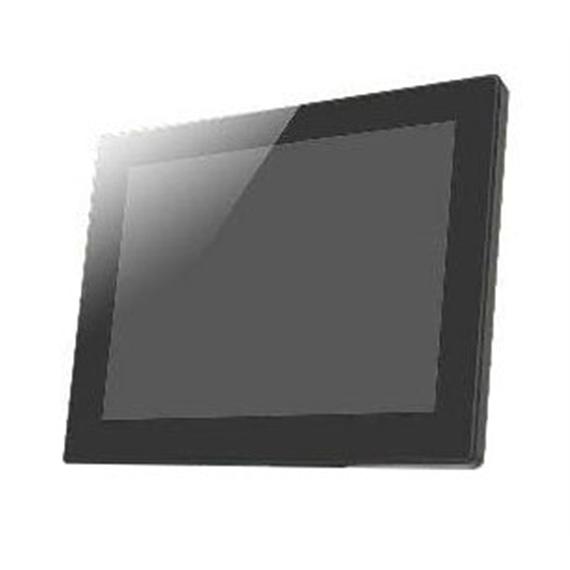 """Monitor LCD 8"""" True Flat Preto 800x600 para Czar com suporte - 30532125"""