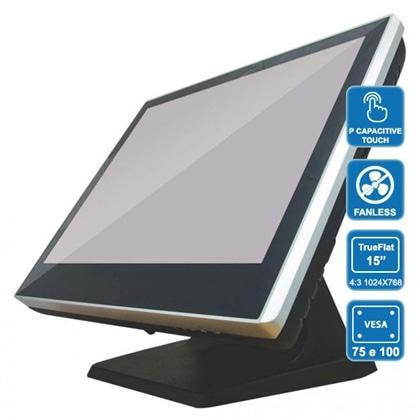 "POS CZAR PH8100 QC J1900, 8Gb, SSD120, 15"" tFlat Touch - PCZAR8GB120SSD-C"