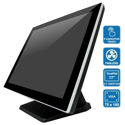 "POS CZAR PH8100 J1900 - 17""Capacitivo Trueflat, 4Gb, SSD120 - PCZAR17-4GB120SSD"