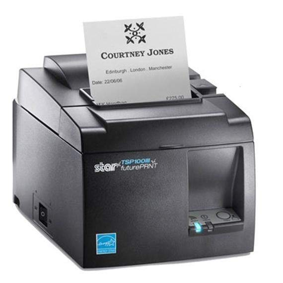 Impr.Térmica STAR TSP143IIIU USB Grey - 31279056
